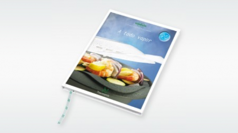 Libro de recetas al vapor de Thermomix