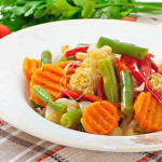 Verduras vapor