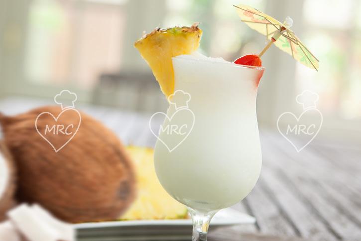 receta Thermomix TM5 TM31 ananas o pina colada con coco