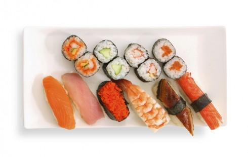 arroz maki sushi