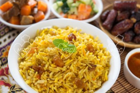 preparar receta de arroz estilo pilaf