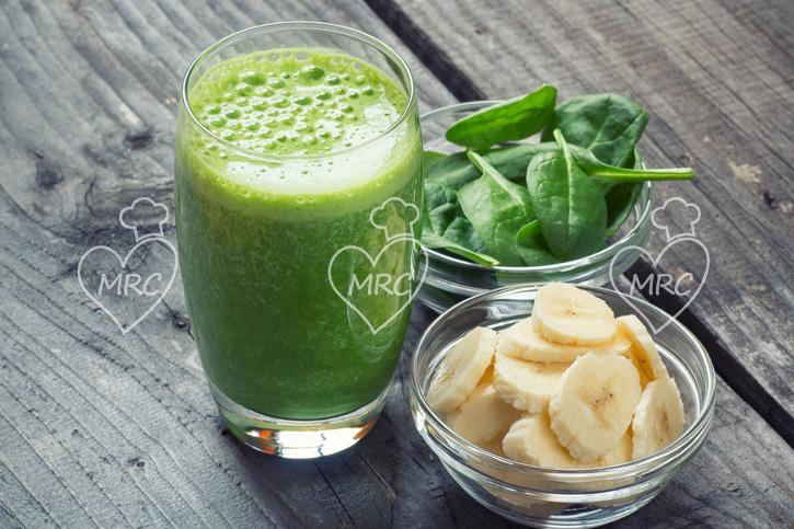 Batido verde con espinacas y platano recetas thermomix for Maneras de cocinar espinacas