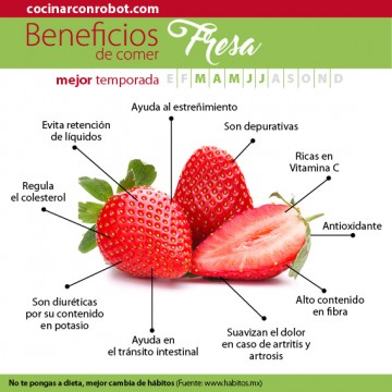 beneficios fresa