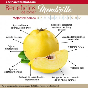 beneficios del membrillo o codón