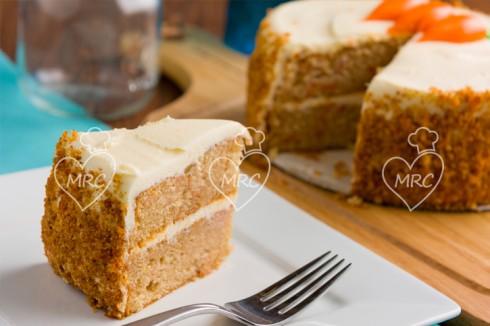bizcocho zanahoria o carot cake