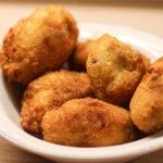 Croquetas de setas Shii-Take y pollo