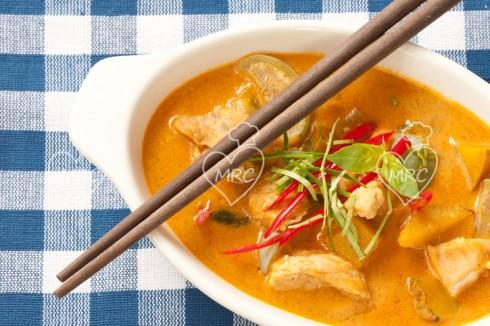 receta Thermomix TM5 TM31 curry panang rojo con cerdo