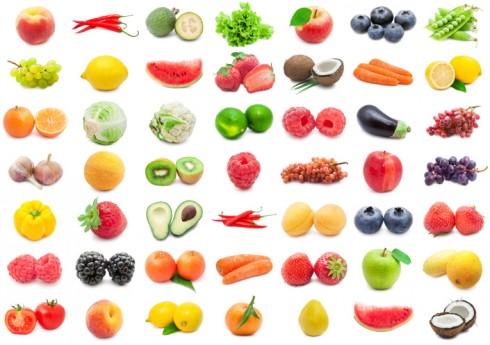 dieta segun los colores de los alimentos