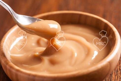 dulce de leche preparado con thermomix