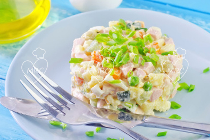 Cocinar Ensaladilla Rusa | Ensaladilla Rusa Triturada Recetas Para Cocinar Con Thermomix