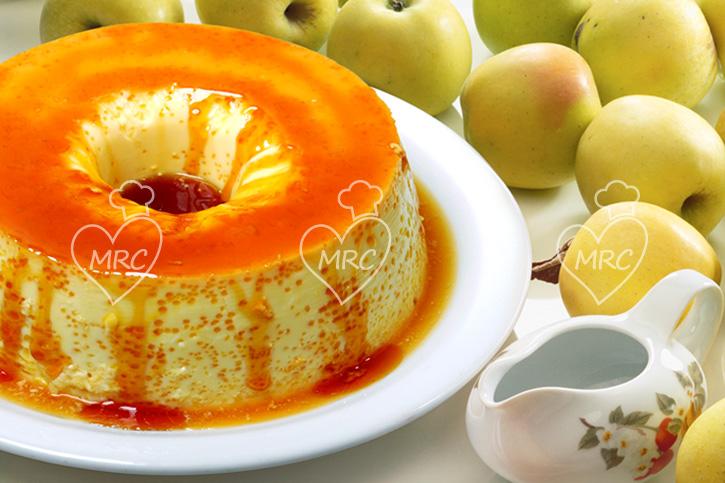 receta Thermomix TM5 TM31 flan de manzana al vapor