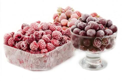 fruta congelada