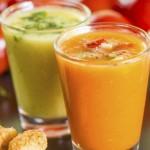 Gazpacho de mango
