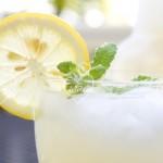Limonada casera con Thermomix