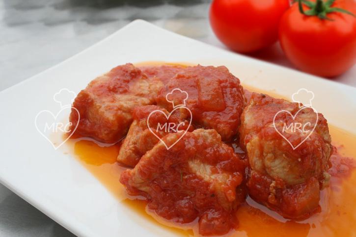 magro de cerdo co tomate con thermomix