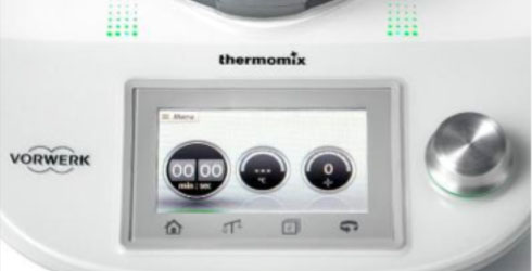 Nueva pantalla de la Thermomix TM5