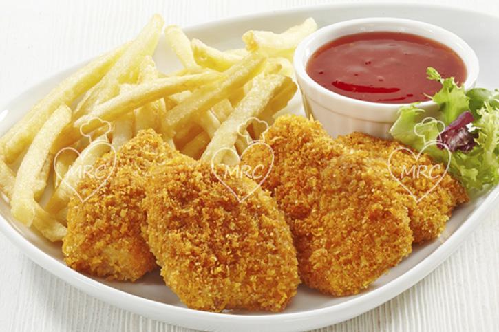 nuggets caseros pollo
