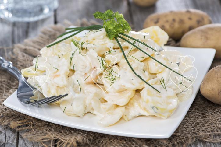 patatas con mahonesa