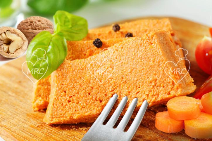 pate vegetalde de zanahorias con nueces