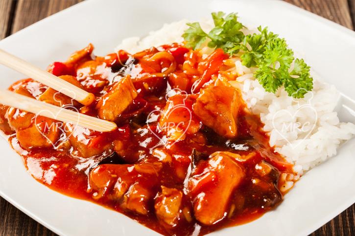 receta pollo agridulce con arroz receta thermomix TM5 TM31