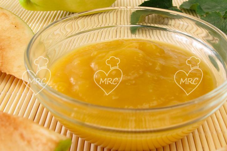 salsa de membrillo al predro ximenez