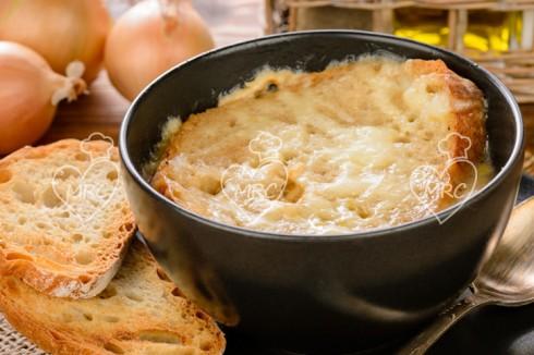 sopa de cebolla con Thermomix