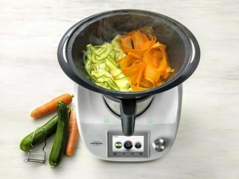 thermomix Tm5 varoma cocina vapor vegetales