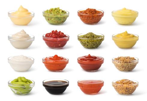 variedad de salsa preparadas con thermomix