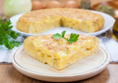 Tortilla de patatas tradicional