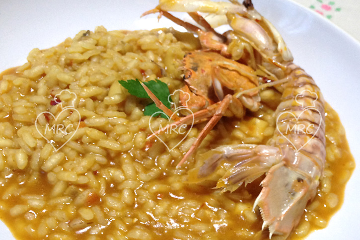 arroz meloso de galeras