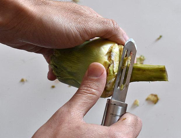 Limpiar cortar alcachofa trucos