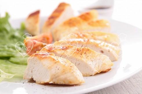 Preparar pollo a las finas hierbas en varoma de el thermomix TM31