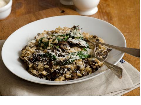 Receta Termomix TM5 o TM31 arroz risotto con setas