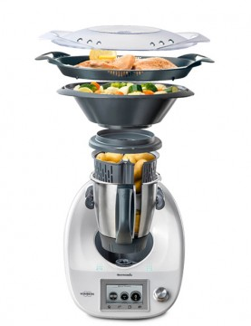 Cocinar al vapor con el varoma cocinar con robot for Cocinar con robot