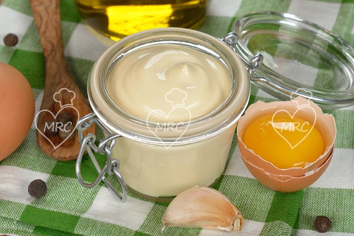 ajoaceite con huevo preparado con thermomix