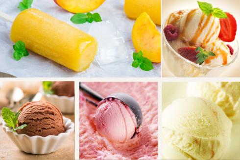 al rico helado preparado con thermomix