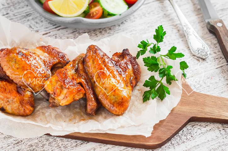 Alitas de pollo con miel salsa de soja y limon especial para ninos con Thermomix