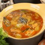 Anguilas en salsa «all i pebre»