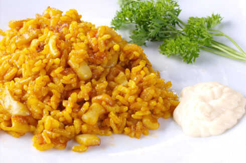arroz a banda alicantino con thermomix