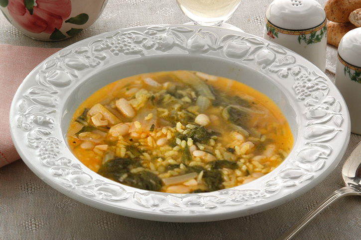 receta tradicional arroz de acelgas