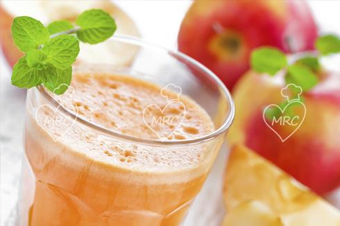 receta thermomix batido manzana
