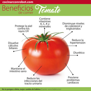 beneficios tomate