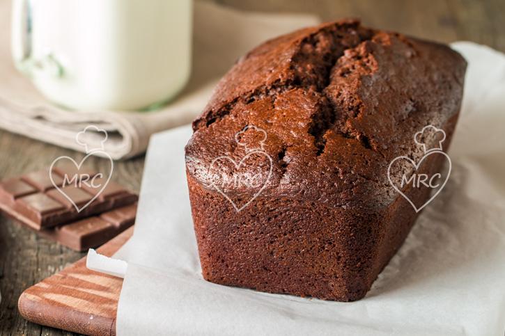 bizcocho pan de platano y chocolate