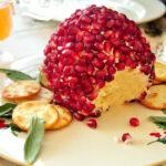 Bola de quesos con granada para untar