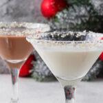 Martini copo de nieve