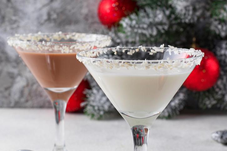 coctel navidad copo de nieve Thermomix