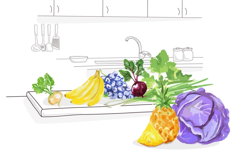 consume fruta y verdura de temporada en invierno