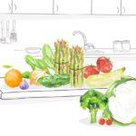 Consume verdura y fruta de temporada en primavera