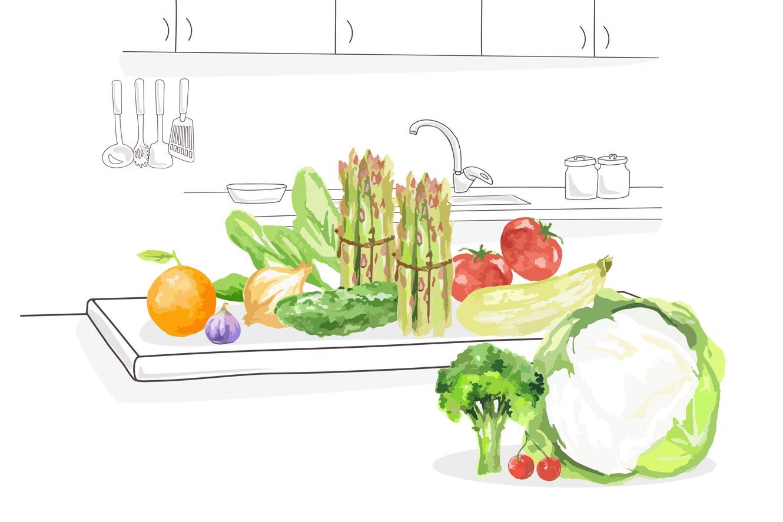consumo fruta y verdura de temporda en primavera