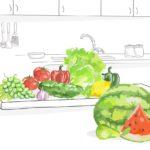 Consume verduras y fruta de la temporada de verano